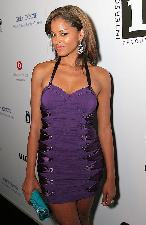 """""""Deal or No Deal"""" beauty Claudia Jordan and """"Access Hollywood"""" personality Billy Bush have been announced as hosts of the 2009 Miss Universe Pageant. Claudia is no stranger to such contests -- she was Miss Rhode Island Teen USA in 1990 and Miss Rhode Island USA in 1997. Leon Bennett/<a href=""""http://www.wireimage.com"""" target=""""new"""">WireImage.com</a> - June 28, 2009"""