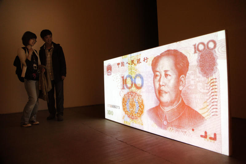 China's yuan joins world's most traded currencies