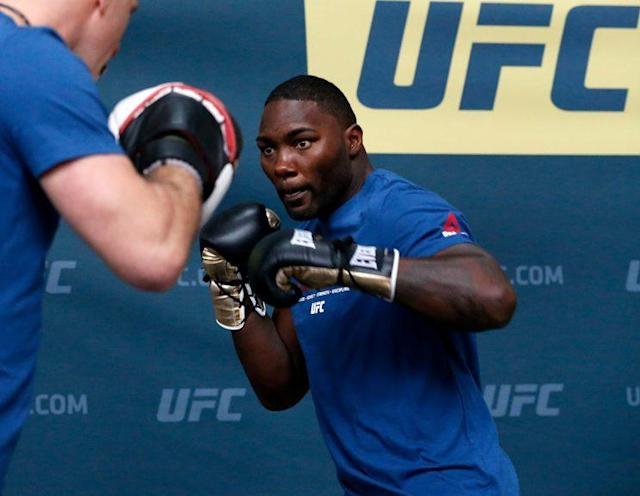 Anthony 'Rumble' Johnson has been a force since his move to the light heavyweight division. (Getty)