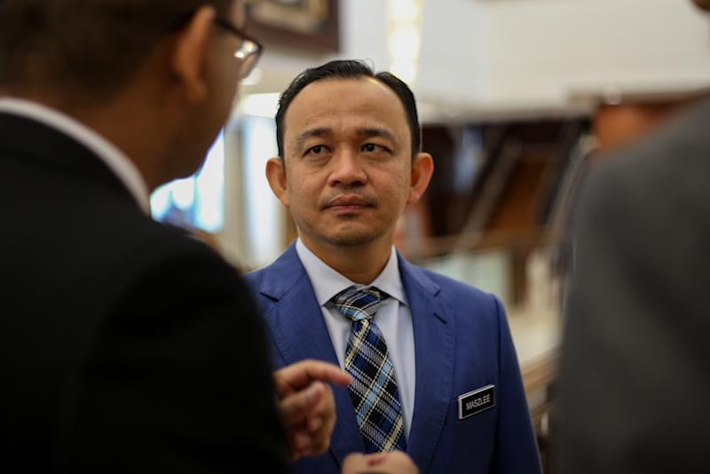 Pundits have noted that the first-time minister is a magnet for controversy, especially following his recent matriculation remarks. — Picture by Ahmad Zamzahuri