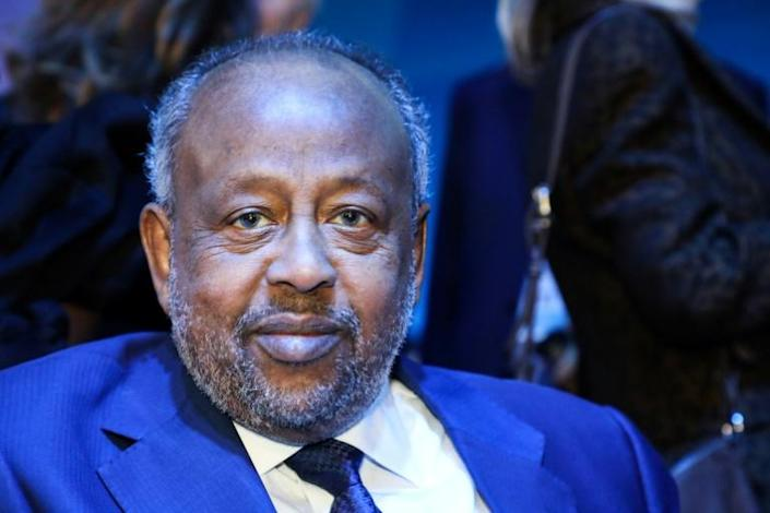 The coronavirus epidemic has also provoked criticism of Djibouti's powerful President Ismail Omar Guelleh (AFP Photo/ludovic MARIN)