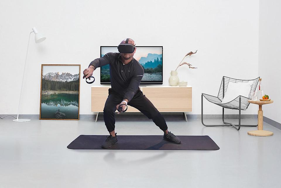 """<p>Transport yourself to the most insanely beautiful and exciting locations around the world, all from the comfort of your living room. You can enjoy the thrill of traveling again (thanks to VR) and try personalized workouts that'll feel more like you're playing a video game. Quarantine just got a lot more fun.</p> <p><b>Buy It! </b>Supernatural Monthly Membership; $19 per month, $179 per year; <a href=""""https://www.getsupernatural.com/"""" rel=""""nofollow noopener"""" target=""""_blank"""" data-ylk=""""slk:getsupernatural.com"""" class=""""link rapid-noclick-resp"""">getsupernatural.com</a></p>"""