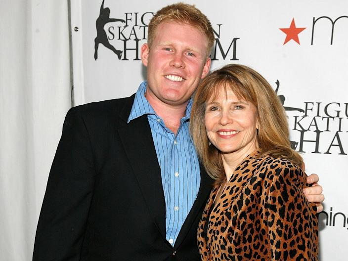 NEW YORK, NY - APRIL 04:  Andrew Giuliani and Donna Hanover attend the 2011 Skating With the Stars Gala at Wollman Rink - Central Park on April 4, 2011 in New York City.  (Photo by Andy Kropa/Getty Images) (Getty Images)