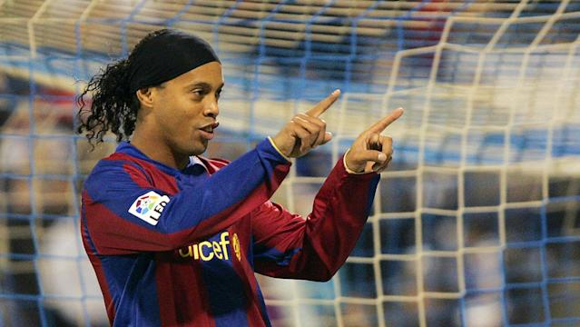Ronaldinho spent five successful years at Barcelona