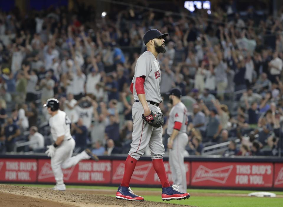 Red Sox starter David Price can redefine himself in Boston with a strong postseason. (AP)