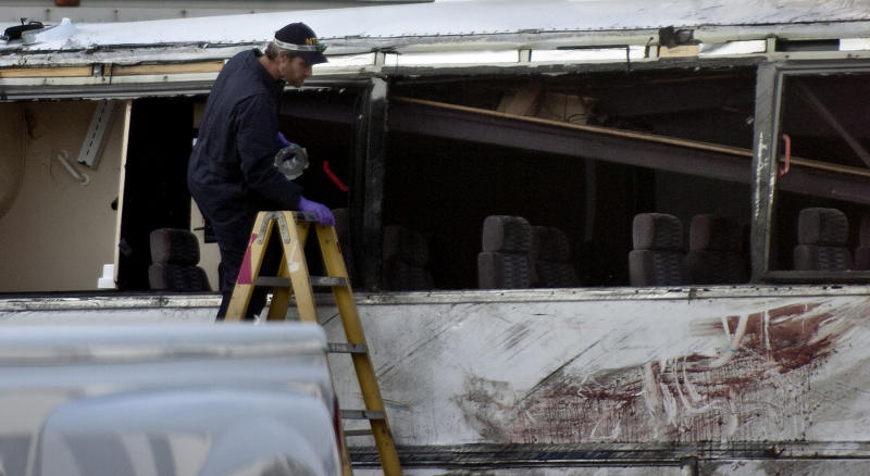 Calif. tour bus collision death toll rises to 8