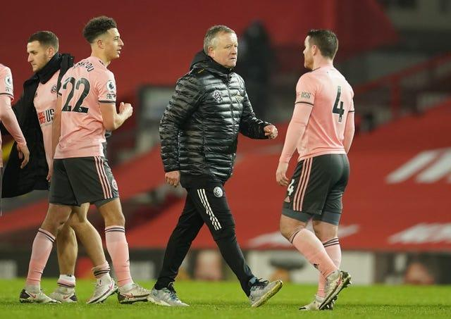 Chris Wilder oversaw Sheffield United's first win at Old Trafford since 1973