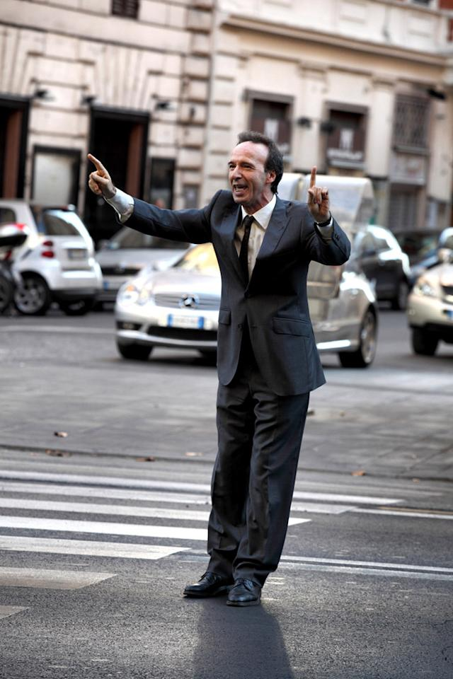 """Roberto Begnini in Sony Pictures Classics' """"To Rome With Love"""" - 2012"""