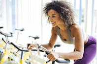 """<p>Indoor cycling is one hell of a <a href=""""https://www.goodhousekeeping.com/health/fitness/a31478709/home-workout/"""" rel=""""nofollow noopener"""" target=""""_blank"""" data-ylk=""""slk:workout"""" class=""""link rapid-noclick-resp"""">workout</a>. From improving cardiovascular endurance to building strength, you're getting a full body workout with just one piece of equipment. And if you haven't tried cycling shoes yet, trust us, they're a game changer. </p><p>Investing in a good quality pair of cycling shoes allows you to literally become one with the bike. By clipping in, you're able to have a smoother and more controlled pedal stroke as opposed to riding with regular sneakers in cages. <strong>Most cycling shoes have a very stiff firm sole </strong>to allow the power of your leg to go straight into each and every pedal stroke and not be absorbed by the shoe; hence, you're able to push harder. Cycling shoes also lock into the pedal, ensuring that your leg is in proper alignment the entire ride. If you're cycling upwards of two to three times a week, cycling shoes can be very beneficial. </p><p>FYI: The type of pedal system your bike has determines which type of cleats (the little clip under the shoe that attaches to the pedal) you'll need for your cycling shoes. <strong>The two popular cleat systems are the SPD, with two holes, or the Delta, which has three holes. </strong>Both are great options and offer advantages, but regardless, you want to get the proper cleats for whichever type of bike you ride regularly. Boutique fitness brands like SoulCycle tend to have double-sided pedals that work with both SPD or Delta, but <a href=""""https://www.goodhousekeeping.com/health-products/a29659127/what-is-peloton-bike-review-cost-facts/"""" rel=""""nofollow noopener"""" target=""""_blank"""" data-ylk=""""slk:Peloton bikes"""" class=""""link rapid-noclick-resp"""">Peloton bikes</a> require Delta only unless you change out the pedals themselves. </p><p><strong>Fitness experts in the <a href=""""https://www.goodhousekeeping.com/he"""