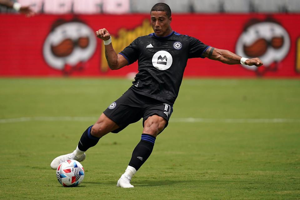 Erik Hurtado will be joining his fourth MLS team after being traded from Montreal to Columbus.