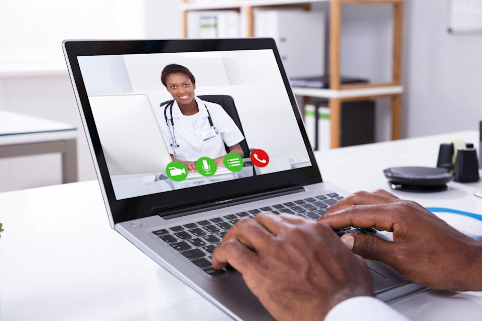 Telemedicine visits allow patients to visit a doctor virtually, through a smartphone or other device.