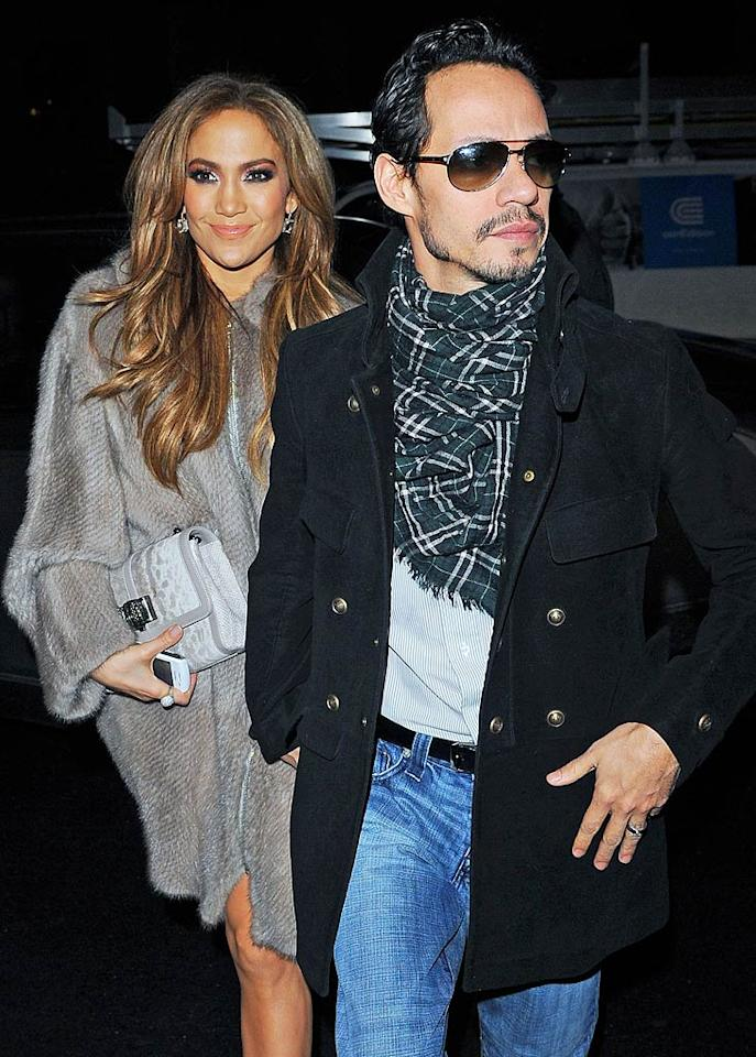 """Nearly a month after their separation announcement, Marc Anthony is still causing trouble for Jennifer Lopez,"" reports <i>Us Weekly</i>, which notes Anthony now ""calls her nonstop, especially when he's drinking."" According to the mag, ""Marc is constantly harassing her and doesn't think she'll go through with the divorce."" For how Lopez is dealing with Anthony's antics, and the shocking steps she's taking to ensure they stop, see what a Lopez confidante reveals to <a href=""http://www.gossipcop.com/marc-anthony-harassing-jennifer-lopez-phone-calls-drunk-drunken-calling/"" target=""new"">Gossip Cop</a>. Ron Asadorian-Eddie Mejia/<a href=""http://www.splashnewsonline.com"" target=""new"">Splash News</a> - February 2, 2011"