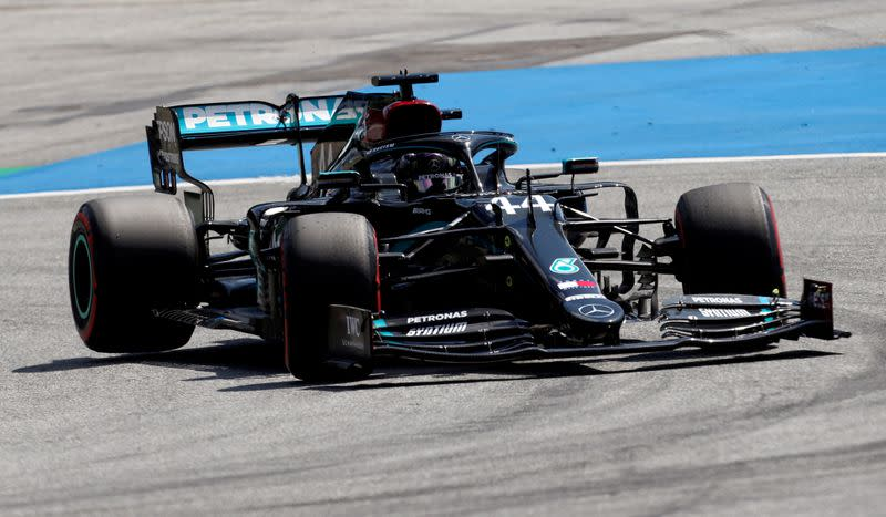 F1 drivers to show support for fight against racism