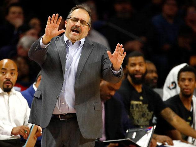 Stan Van Gundy has all he needs, thank you. (Getty Images)