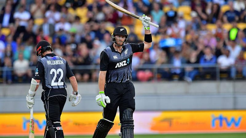 Williamson's knock set up the win for the Kiwis. Pic: Getty