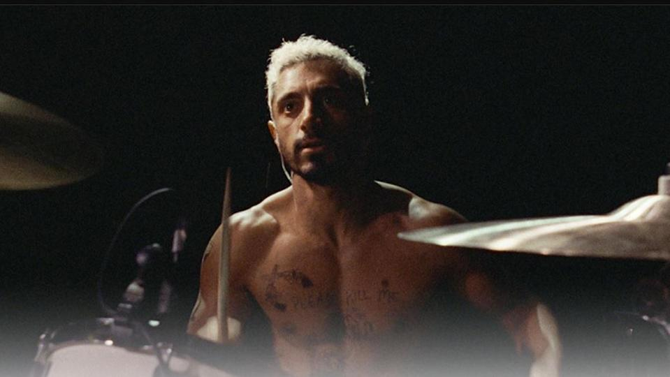 Riz Ahmed in the Best Sound award nominee, Sound of Metal.