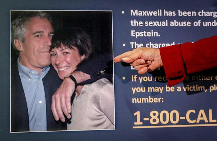 Jeffrey Epstein and British socialite Ghislaine Maxwell have been accused of sexual abuse and exploitation in the UK.  (Copyright 2020 The Associated Press. All rights reserved.)