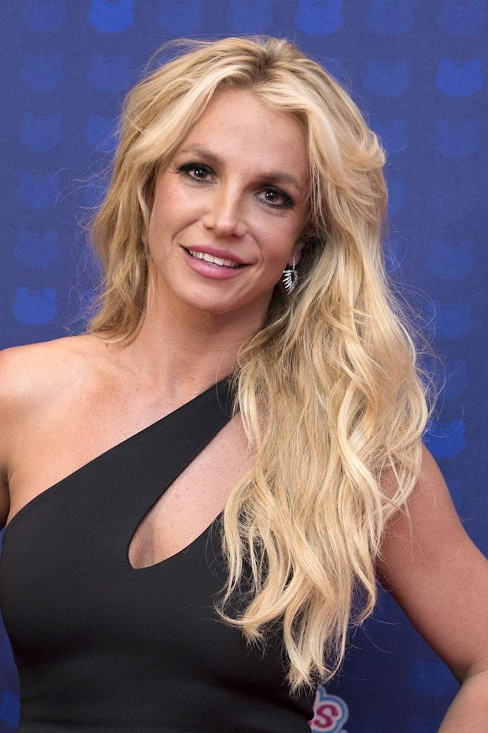 """<p><a href=""""http://www.goodhousekeeping.com/health/fitness/g4149/britney-spears-fitness/"""" rel=""""nofollow noopener"""" target=""""_blank"""" data-ylk=""""slk:Britney Spears"""" class=""""link rapid-noclick-resp"""">Britney Spears</a> is another pop icon who has been blonde for the majority of her career, with pit stops at pitch black and no hair at all.</p>"""