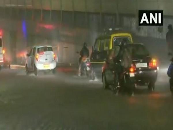 Suburban Mumbai received 23.4 mm rainfall on September 22. [Photo/ANI]