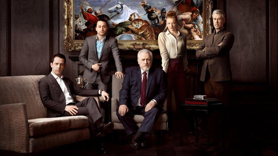 """<p><em>Succession</em> might have been a slow burn when it comes to building an audience, but after two successful seasons, the sardonic drama about an elite media family is a dark look into wealth and dominance. With Brian Cox's Logan Roy at the helm of the Roy family, he navigates the power hungry intentions of his children.</p><p><a class=""""link rapid-noclick-resp"""" href=""""https://play.hbomax.com/series/urn:hbo:series:GWukCJAq-nIuHwwEAAAB4?camp=googleHBOMAX&action=play"""" rel=""""nofollow noopener"""" target=""""_blank"""" data-ylk=""""slk:Watch Now"""">Watch Now</a></p>"""