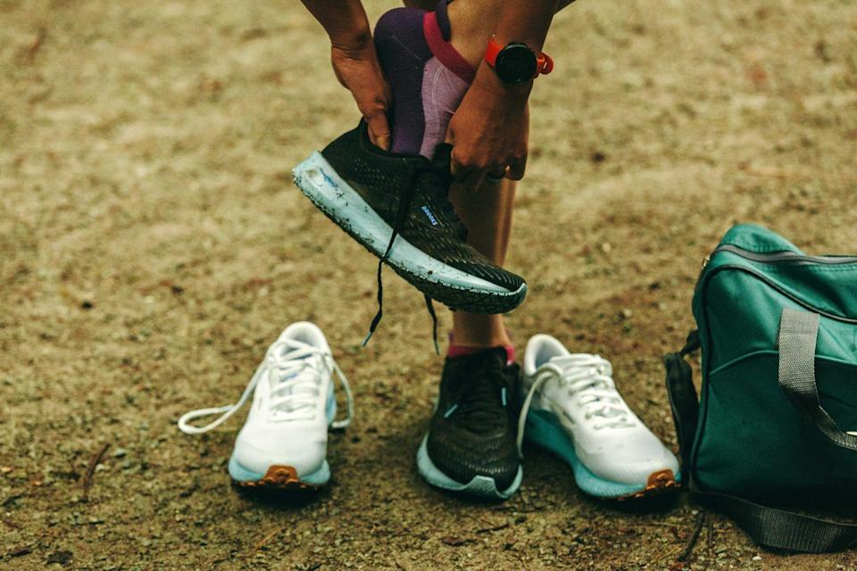 """<p>The quickest way to spot a runner at the beach is scanning for the <a href=""""https://www.runnersworld.com/health-injuries/a20849167/5-causes-of-black-toenails-and-how-to-id-the-harmless-from-the-harmful/"""" rel=""""nofollow noopener"""" target=""""_blank"""" data-ylk=""""slk:black toenailed"""" class=""""link rapid-noclick-resp"""">black toenailed</a> and toenail-less. If you run long distances, they're sure to fall off and leave you with some funky looking feet.</p>"""