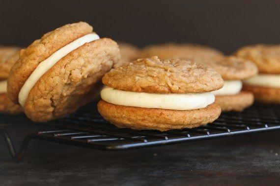 """<p>Key lime pie is king in the Sunshine State, and the flavors translate seamlessly to crunchy cookies as well. Whether you prefer key lime coolers or these key lime pie sandwich cookies filled with tangy cream, you really can't go wrong.</p><p>Get the recipe from <a href=""""https://cookiesandcups.com/key-lime-pie-sandwich-cookies/"""" rel=""""nofollow noopener"""" target=""""_blank"""" data-ylk=""""slk:Cookies & Cups"""" class=""""link rapid-noclick-resp"""">Cookies & Cups</a>.</p>"""