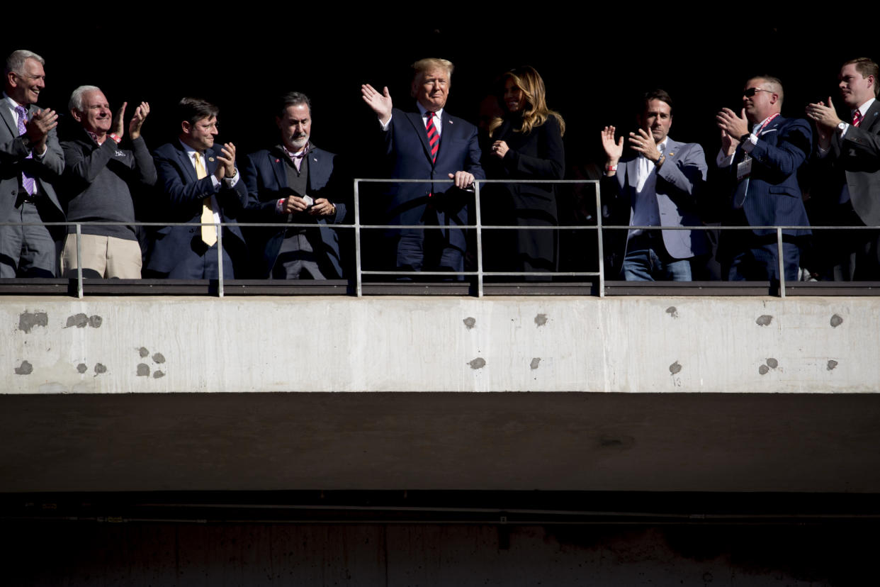 For the third time since he was elected, President Donald Trump is expected to be at the Army-Navy game on Saturday in Philadelphia.