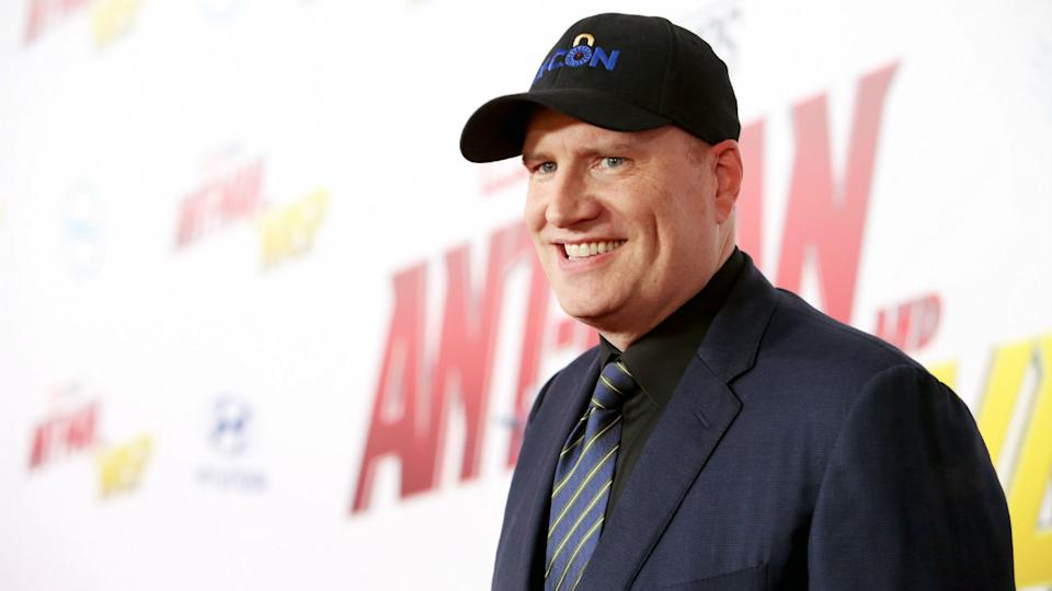 Kevin Feige, who will produce an upcoming Star Wars movie