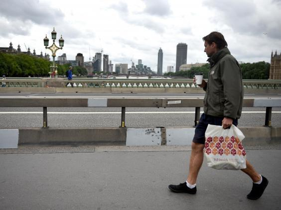Security barriers were only installed on London bridges after the June 2017 attack (Reuters)