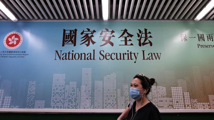 The national security law has been widely criticised