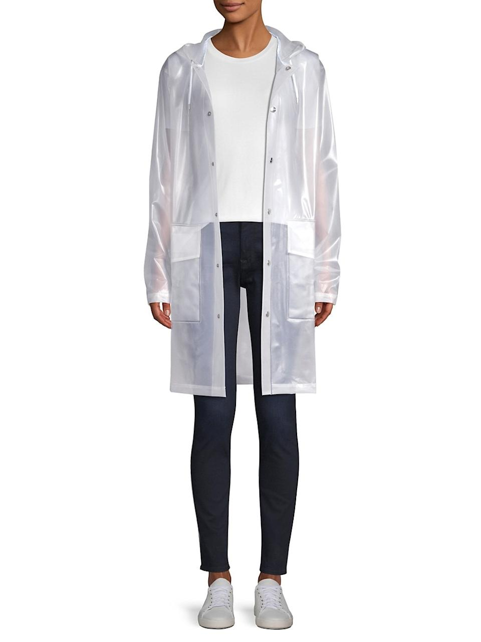 LTD Mirage Capsule Hooded Translucent Coat