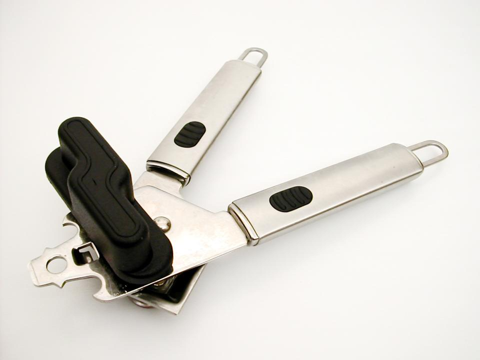 isolated image of a can opener.  if you use this please let me know