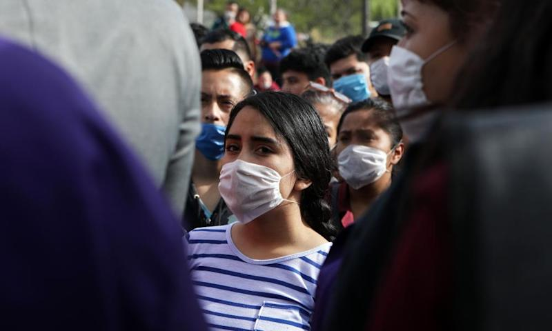 Factory workers in the border city of Ciudad Juárez protest against the lack of Covid-19 safety measures in their workplace.