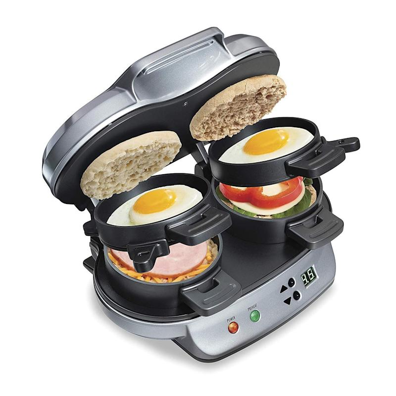 "They don't have to fight over the toaster. Get it for $44.98 at <a href=""https://www.amazon.ca/dp/B00N3L2DMG/"" target=""_blank"" rel=""noopener noreferrer"">Amazon</a>."