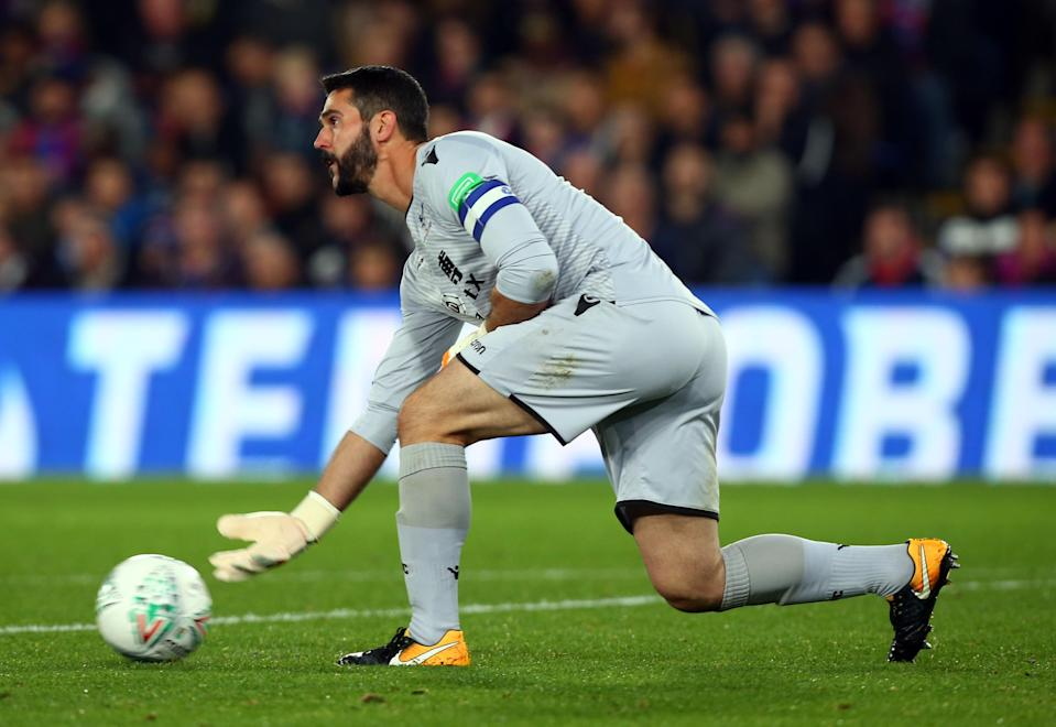 A couple of miskicks took the shine off an otherwise solid performance from Julian Speroni