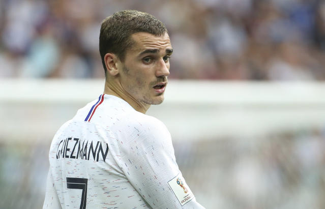Antoine Griezmann has led France to the World Cup final and is a Golden Ball candidate. (Getty)