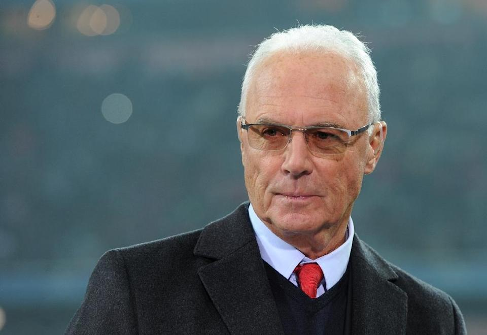 Franz Beckenbauer has repeatedly denied that any votes were bought in the bidding process for the World Cup 2006, and that he is guilty of any wrongdoing (AFP Photo/Christof Stache)