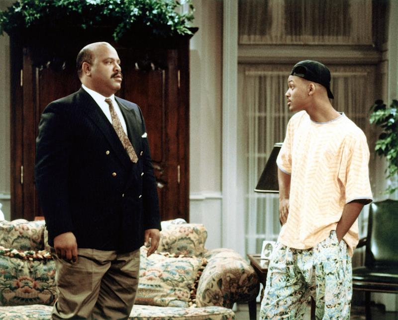 THE FRESH PRINCE OF BEL-AIR, (from left): James Avery, Will Smith, (1991), 1990-96. (C) NBC / Courtesy ((C)NBC)