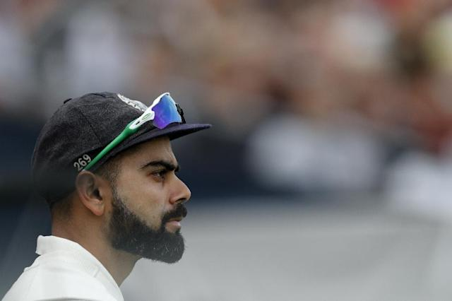 Virat Kohli believes India can compete in Australia despite a chastening 4-1 Test series defeat against England (AFP Photo/Adrian DENNIS)
