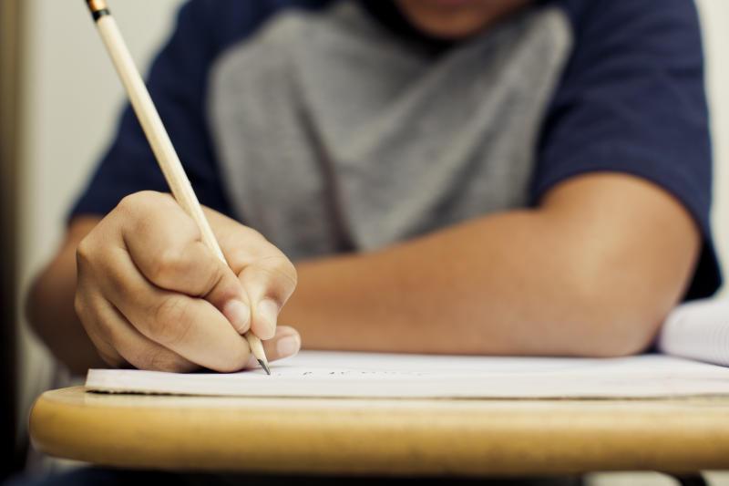 """Dysgraphia or""""disabled handwriting""""often accompanies other conditions, like dyslexia, dyspraxia, ADHD, and autism spectrum disorders. (Getty Images/Vetta)"""