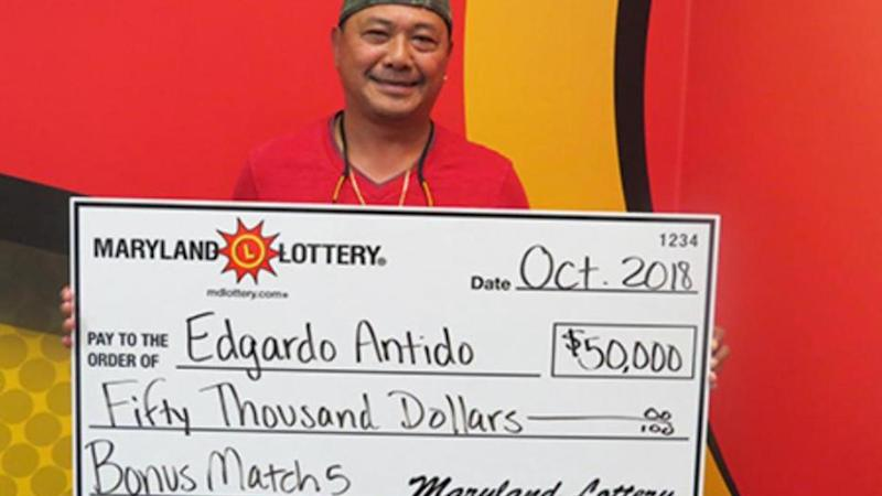Maryland Man Wins Lottery With Winning Numbers He Saw on Television