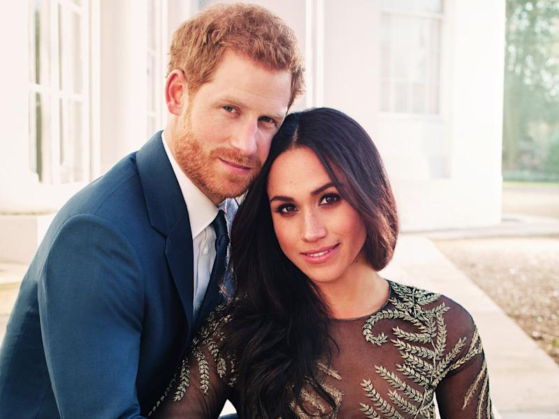 meghan markle ralph & russo engagement gown