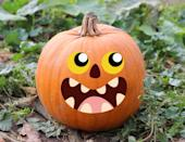 """<p>Decorating your Jack-'o-lantern can be as easy as peeling stickers and sticking them on your pumpkin to look however you want it to. </p><p> <a class=""""link rapid-noclick-resp"""" href=""""https://www.amazon.com/jollylife-Make-Your-Jack-Lantern/dp/B07GZK7566/?tag=syn-yahoo-20&ascsubtag=%5Bartid%7C10070.g.331%5Bsrc%7Cyahoo-us"""" rel=""""nofollow noopener"""" target=""""_blank"""" data-ylk=""""slk:SHOP PUMPKIN STICKERS"""">SHOP PUMPKIN STICKERS</a> <br></p>"""