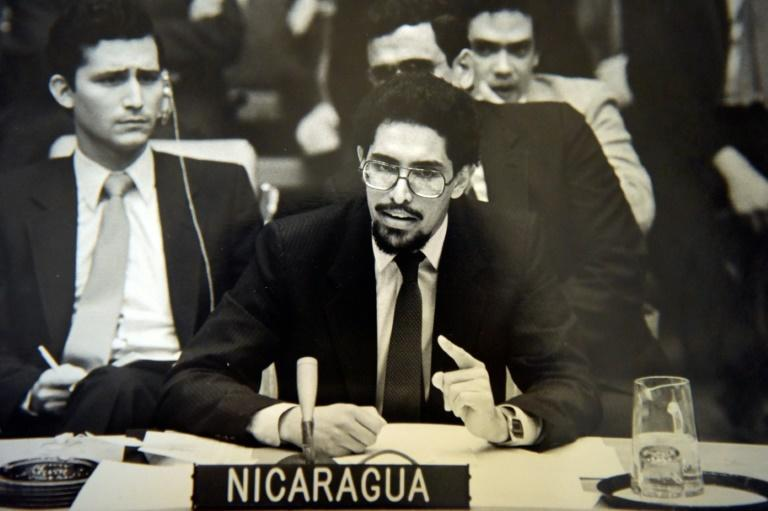 Victor Hugo Tinoco, pictured in 1979 in New York, was Nicaragua's ambassador to the United Nations under Daniel Ortega's first government