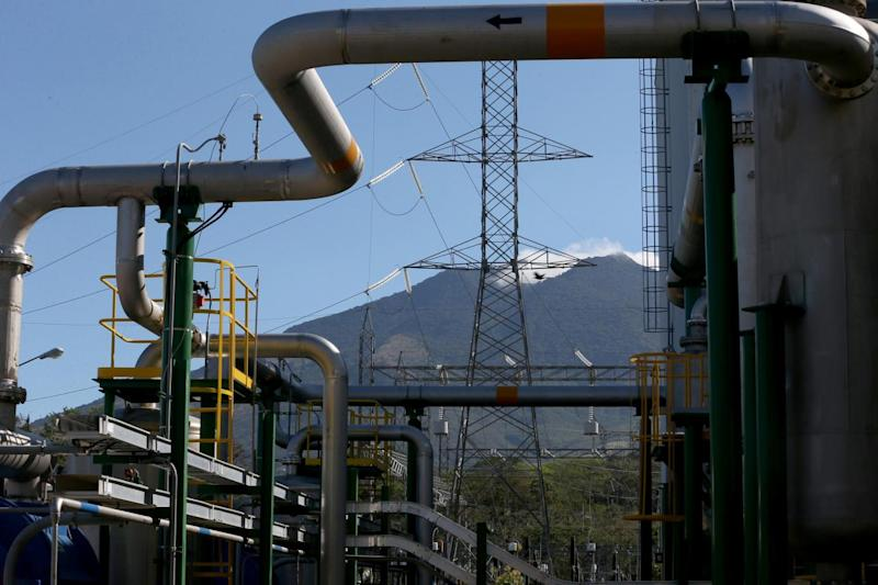 Volcanoes source of the steam to power this geothermal power plant run by the Costa Rican Electricity Institute (Getty)
