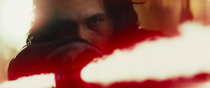 <p>The First Order was dealt a mighty blow by the resistance, and commander Kylo Ren (Adam Driver) was personally scarred by Rey's lightsaber, in <em>The Force Awakens</em>. Now, he seeks revenge.<br>(Credit: Lucasfilm) </p>