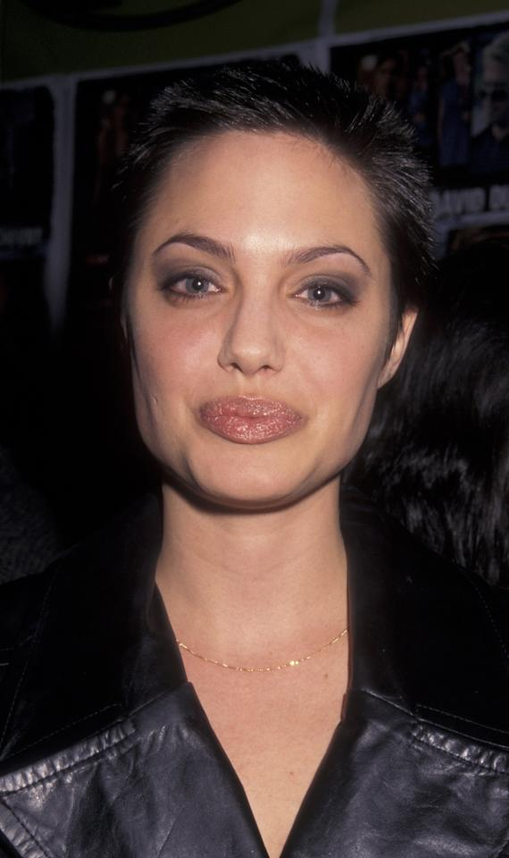 """<p>To play the '70s and '80s supermodel Gia Carangi in the HBO TV film <em>Gia</em>, <a rel=""""nofollow"""" href=""""http://www.wmagazine.com/topic/angelina-jolie?mbid=synd_yahoolife"""">actress Angelina Jolie</a> cut her dark hair into a shorter style.</p>"""