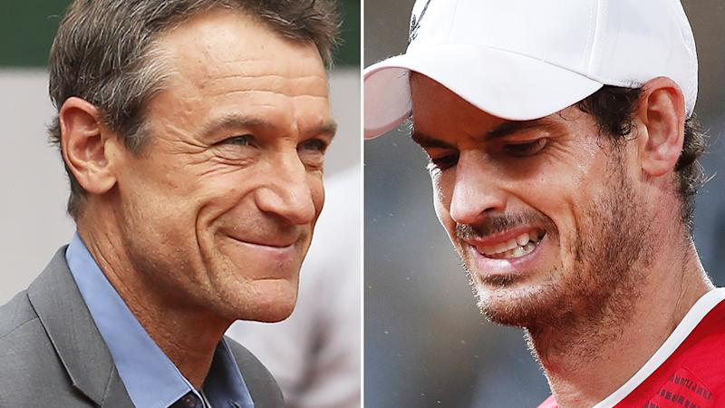 Former world no.1 Mats Wilander has been critical of the decision to hand Any Murray a wildcard entry to the French Open. Pictures: Getty Images