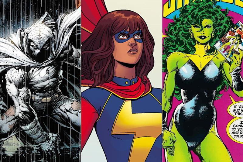 Ms. Marvel, Moon Knight, and She-Hulk Are Coming to Disney+
