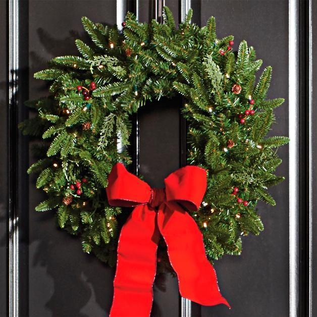 "<p>grandinroad.com</p><p><strong>$63.60</strong></p><p><a href=""https://www.grandinroad.com/madison-fraser-cordless-wreath/820992"" rel=""nofollow noopener"" target=""_blank"" data-ylk=""slk:Shop Now"" class=""link rapid-noclick-resp"">Shop Now</a></p><p>Simple greenery can still scream holiday with this Christmas wreath.</p>"